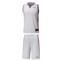 李宁 篮球套装男 标准白   M     TY.703
