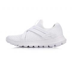 李宁 18年新款鞋女款 减震跑鞋 春季 ARHN172-2 标准白    39码  TY.036