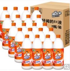 威猛84消毒液 500ml  20瓶/箱 货号:100.ZL594
