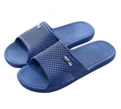 浴室地板拖 居家拖鞋男士 蓝色  43码-最大码   货号100.X