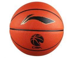 李宁 CBA比赛用球 PU材质室内外通用7号 标准篮球ABQJ112-1       TY.1089