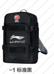 李宁 运动双肩背包 ABSM211-1标准黑      TY.082