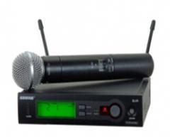 舒尔 无线话筒 SLX24/SM58 一拖一 货号100.SQ675