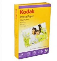 柯达Kodak 4R/6寸 200g高光面照片纸/喷墨打印相片纸/相纸 100张装    货号100.X