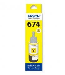 爱普生(EPSON)适用  L801/1800/850/810  T6744黄色墨水 HC.116