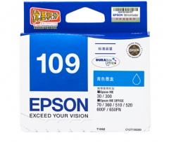 爱普生(Epson)T1092青色墨盒 C13T109280 HC.141