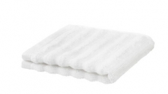 宜家 FLODALEN 福鲁朵恩 小方巾 30厘米x30厘米 白色