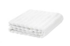 宜家 FLODALEN 福鲁朵恩 毛巾 40厘米x70厘米 白色