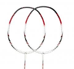 李宁 LINING 全碳素羽毛球拍单拍超轻碳素羽拍 AYPG356-1 A800黑/白色羽毛球拍(单支拍无线)     TY.1067