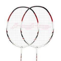 李宁 LINING 全碳素羽毛球拍单拍超轻碳素羽拍 AYPG356-3 A800黑色+白色羽毛球拍(单支拍已穿线)    TY.1068