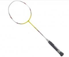 李宁  Lining 低风阻HC1600 碳素羽毛球单拍 AYPJ006-1黄色     TY.1070