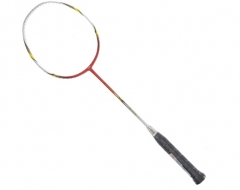 李宁 Lining 低风阻HC1600 碳素羽毛球单拍 AYPJ004-1红色      TY.1071