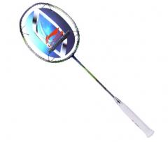 李宁 LI-NING 国家队徐晨用拍N80-II羽毛球拍全碳素羽毛球拍单拍 AYPL026-1 绿色     TY.1074