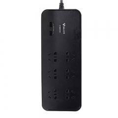 公牛 BULL 拖线板插座 GN-H306U 总控6位 3米 双USB口防浪涌     货号100.hx