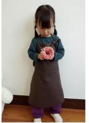 陶艺围裙儿童款 黑色大号    货号100.hx