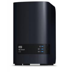 西部数据(WD) My Cloud EX2 NAS Ultra双盘位WDBVBZ0000NCH 网络存储 云服务器 云办公存储 西部数据 红盘 炭灰色 零存储(无自带硬盘)货号100.SQ1041