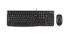 罗技(Logitech)MK120 键鼠套装 鼠标键盘套装 PJ.053