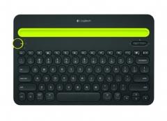 罗技(Logitech)K480 多设备蓝牙键盘 IPAD键盘 手机键盘  蓝牙鼠标伴侣 黑色    PJ.052