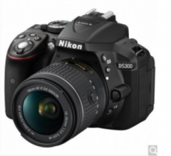 尼康(Nikon)D5300单反套机(AF-S 18-140mmf/3.5-5.6G ED VR 镜头)黑色货号100.JM622