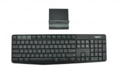 罗技(Logitech)K375s 多设备 安静输入 平板IPAD键盘 无线蓝牙键盘 全尺寸键盘 PJ.057