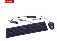 Lenovo 联想 家用商用 有线键盘鼠标套装 KM5821黑色套装 货号100.SQ1113