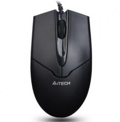 双飞燕(A4TECH) OP-550NU 金靴顺滑鼠标 有线鼠标 办公鼠标 USB鼠标 笔记本鼠标 黑色 PJ.091