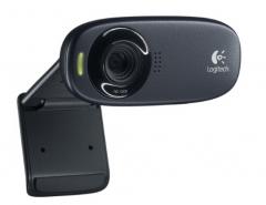 罗技(Logitech) C310 高清晰网络摄像头 视频台式机电脑摄像头 货号100.SQ1197