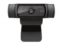 罗技(Logitech) C920 Pro 高清网络摄像头 1080P高清视频 货号100.SQ1199