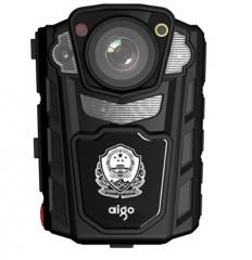 爱国者(aigo)DSJ-R2 执法记录仪 警用版 红外夜视1080P便携加密激光定位录音录像拍照对讲 32G 黑色 货号100.SQ1201