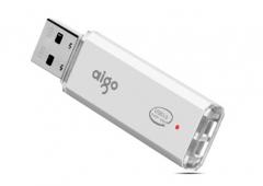 爱国者(aigo)U320 16G 高速U盘 USB3.0 金属亮银优盘 货号100.SQ1293
