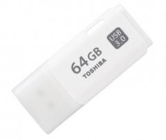 东芝(TOSHIBA)THN-U301W0640C4 隼闪系列USB3.0 U盘 64G 白色 货号100.SQ1311