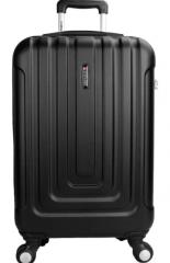 拉杆箱 男女商务休闲ABS22英寸万向轮行李箱旅行箱 黑色 货号100.HW666