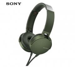 索尼(SONY)MDR-XB550AP 重低音立体声耳机 头戴式 绿色 货号100.SQ1449