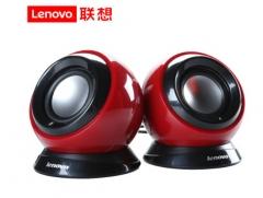 联想(Lenovo)M0520音箱音响电脑台式机笔记本电脑音箱低音炮多媒体2.0声道 红色 货号100.SQ1481