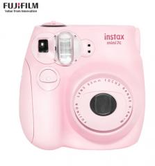 富士(FUJIFILM)INSTAX 一次成像相机 MINI7c相机 可爱粉 货号100.ZJ229