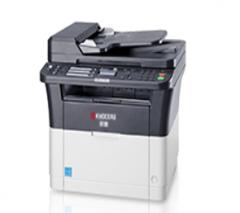 京瓷 Kyocera A4黑白激光一体机 FS-1025MFP (打印、复印、扫描)货号100.HW910