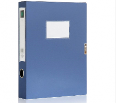 得力 5603 档案盒 (单位:只) 蓝货号100.HW909