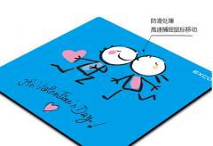 宜适酷(EXCO) 蓝色可爱卡通动漫创意鼠标垫 小号货号100.HW223