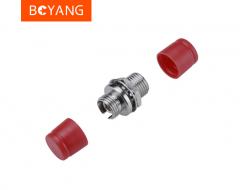 博扬(BOYANG)BY-F33 电信级FC耦合器 FC小D型接口 光纤法兰盘适配器 货号100.S1666