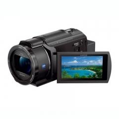 索尼 FDR-AX45 4K 5轴防抖约20倍光学变焦数码摄像机 黑色    货号100.TL