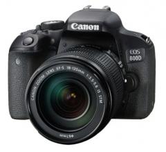 佳能(Canon)EOS 800D 单反套机( EF-S 18-135mm f/3.5-5.6 IS STM)    货号100.TL