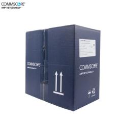 安普网联 6-219586-4  原装超五类网线 非屏蔽网线箱线 蓝箱  305米 货号:100.ZL