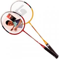 非现货5日达 红双喜铝合金羽毛球拍对拍套装1020 货号160.Q10