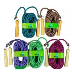 乐士ENPEX 9米长跳绳 中小学生多人团队型 训练跳绳 5 根装 货号160.Q10