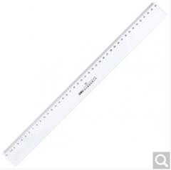 得力deli 直尺40cm塑料透明尺子 6240 40CM直尺 货号160.DL-S