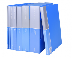 创易 A4资料册文件夹插页资料册30/40/60/100页办公档案夹子(非现货7日达) 货号160.CY-Q 20页资料册