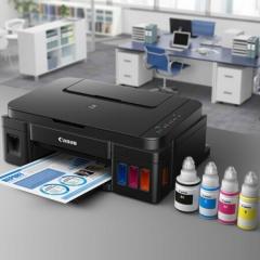 现货隔日达 佳能 G2800 加墨式 喷墨一体机(打印/扫描/复印)货号160.JN-Q