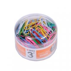 晨光 ABS91698 彩色回形针曲别针PVC筒装 (20盒/组) 货号160.CG-Q