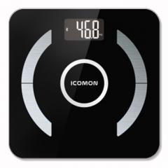 国产 FG315LB 智能蓝牙脂肪秤电子人体称微联APP体重秤全家体脂健康监测 黑色 货号160.Q