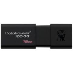 金士顿 DT100G3   16GB USB3.0 黑色  PJ.004